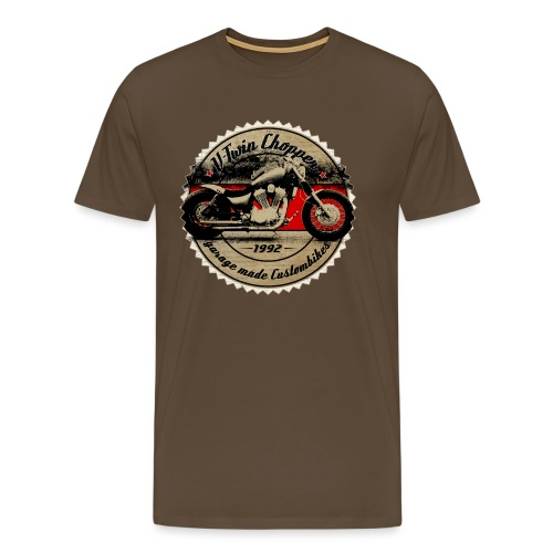 CHROMELESS V2 CHOPPER VOL 2 - Männer Premium T-Shirt