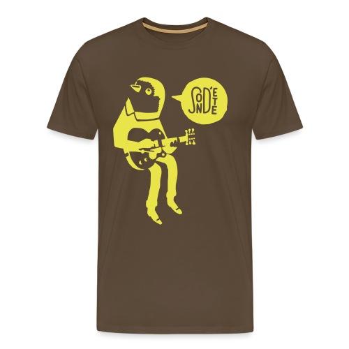 Le son d'été birdy jam 2016 (Bag) - Männer Premium T-Shirt