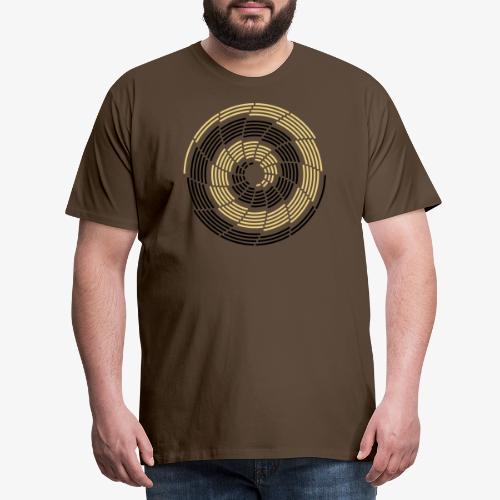 Stroke Galaxy - Männer Premium T-Shirt
