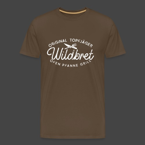Original Topfjäger Wildbret Jägershirt - Männer Premium T-Shirt