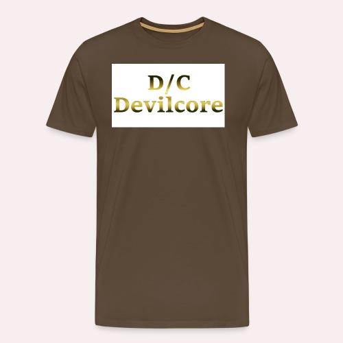 dc devilcore png - Men's Premium T-Shirt