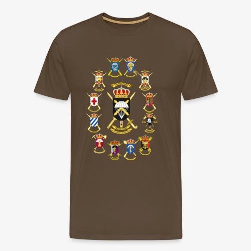 UNIDADES BRIPAC - Camiseta premium hombre