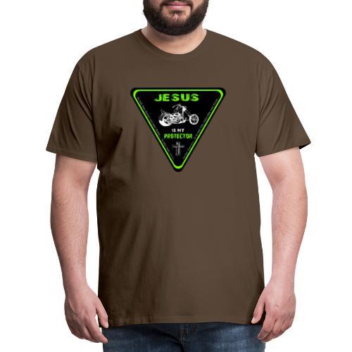 Jesus is my Protector - Männer Premium T-Shirt