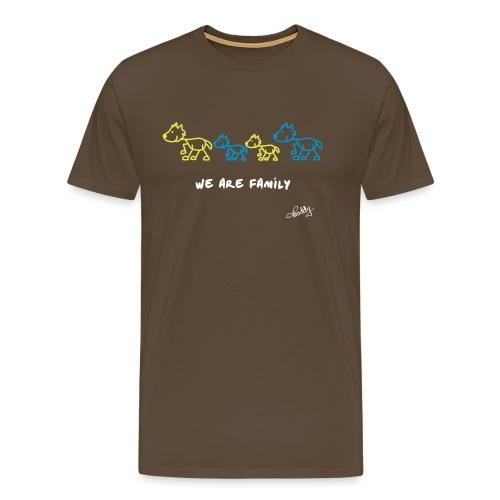 We are Family - Männer Premium T-Shirt