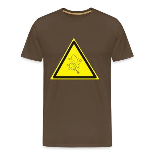 pericolo-caduta-santi - Maglietta Premium da uomo