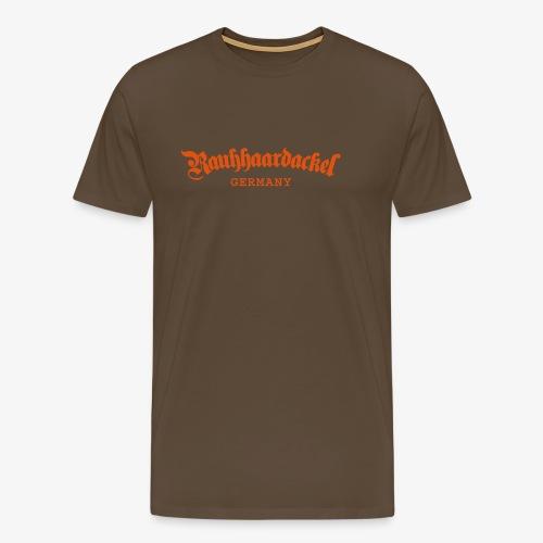 Rauhhaardackel Germany - Männer Premium T-Shirt