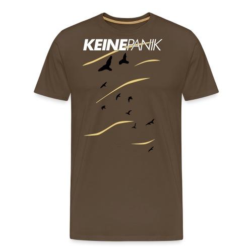 Shirt Vögel Blau Top - Männer Premium T-Shirt