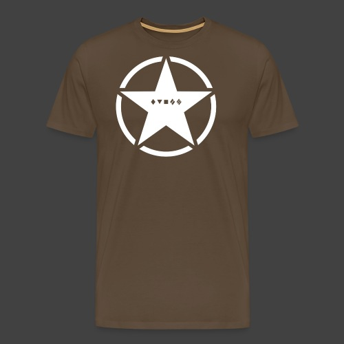 US Army Logo Panzerklassen - Männer Premium T-Shirt