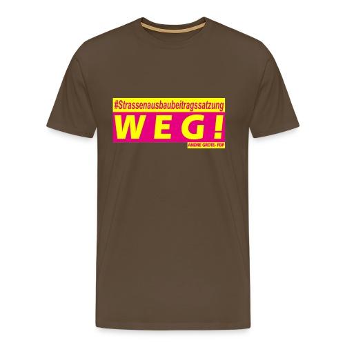 STRABS WEG - Männer Premium T-Shirt