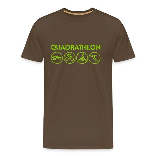 quadrathlon - Men's Premium T-Shirt