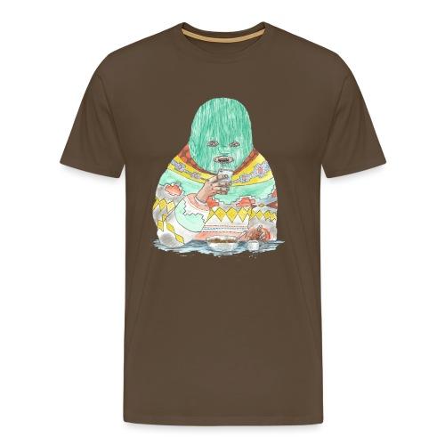Spaghetti time - Men's Premium T-Shirt