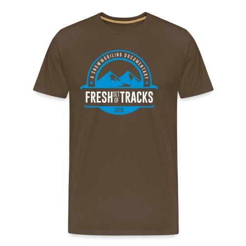 fsotbadgeblueandwhite - Men's Premium T-Shirt