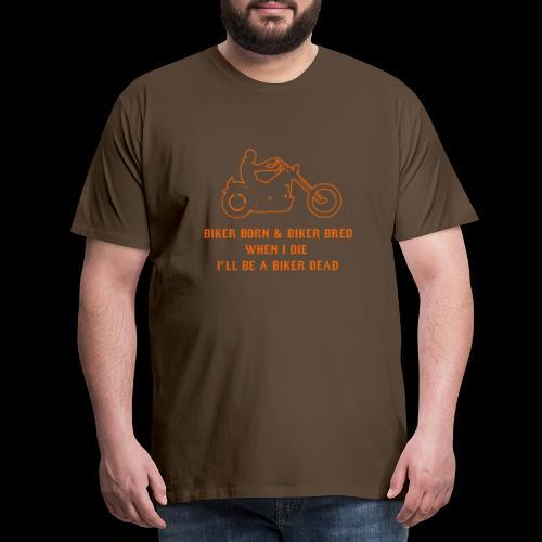 Biker Bred - Men's Premium T-Shirt