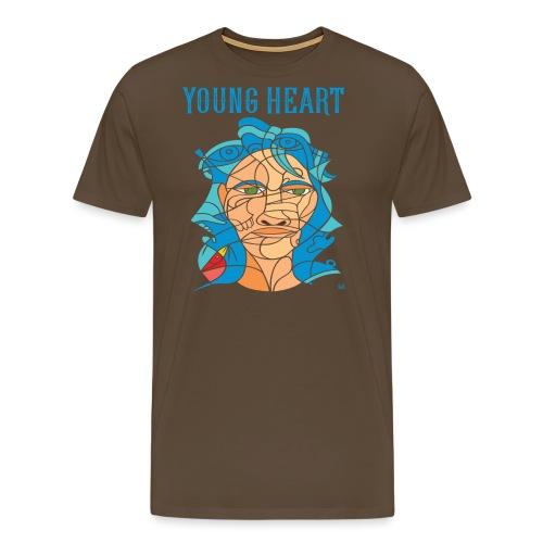 Young Heart - Bird (SE) - Maglietta Premium da uomo