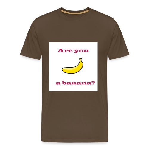 Banana Design - Men's Premium T-Shirt