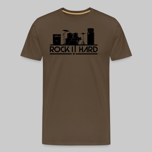 rock it hard - Männer Premium T-Shirt