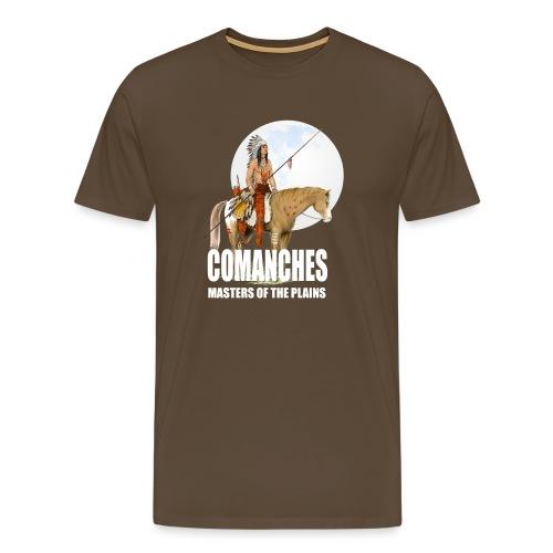 Cavalier Comanche - T-shirt Premium Homme