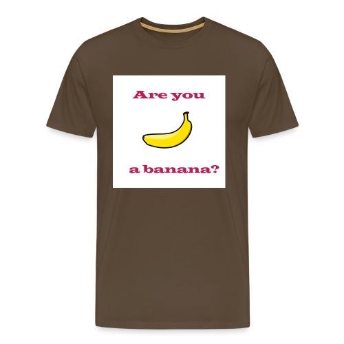 Banana Design - Men's Premium T-Shirt