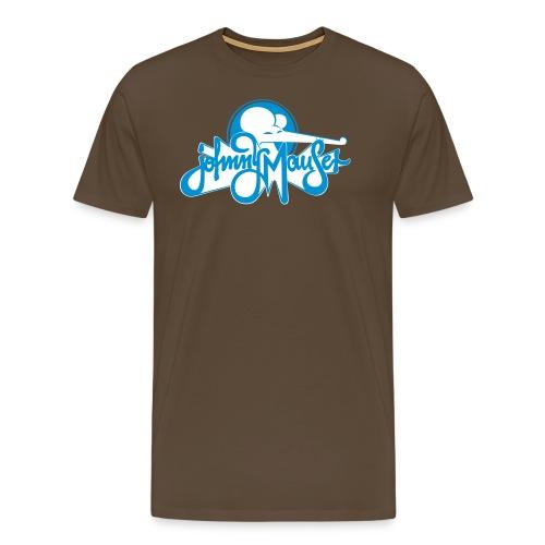 johnny mauserblau - Männer Premium T-Shirt