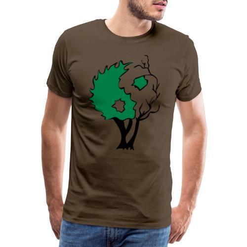 Yin Yang Arbre - T-shirt Premium Homme