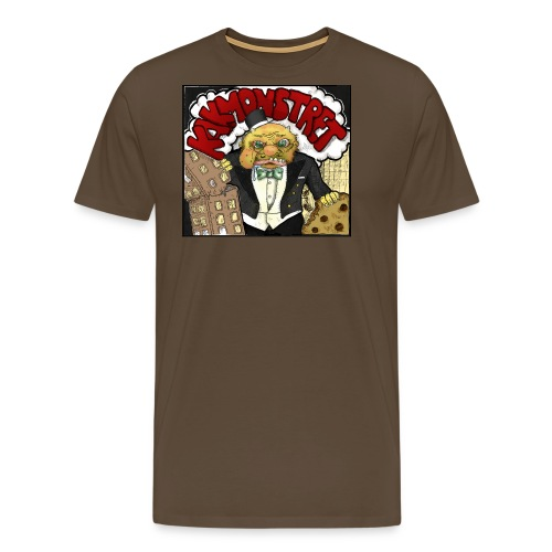 kakmonstret - Premium-T-shirt herr