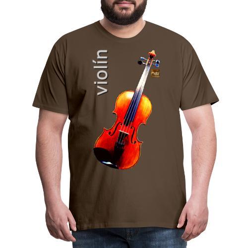 Violín - Camiseta premium hombre