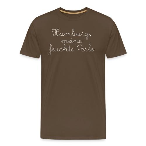 feuchte Perle - Männer Premium T-Shirt