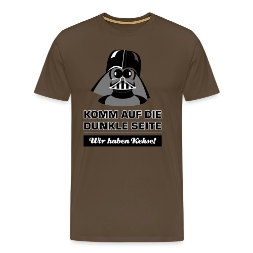 Darth Kiddo - Männer Premium T-Shirt