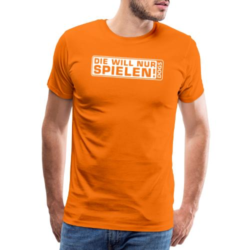Martin Rütter - Die will nur spielen - Frauen Flo - Männer Premium T-Shirt