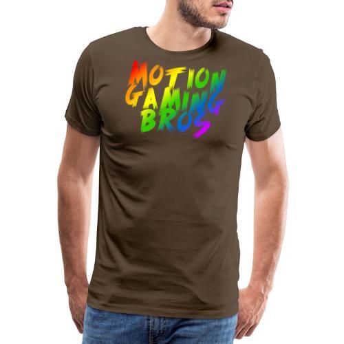 Rainbow png - Männer Premium T-Shirt