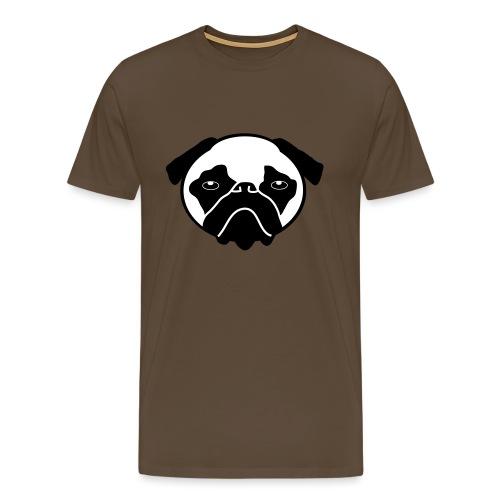 Mops, Hund - Männer Premium T-Shirt