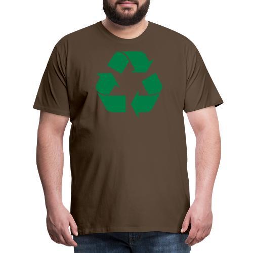 recyclen - Mannen Premium T-shirt