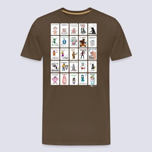 25 Most Wanted - Männer Premium T-Shirt