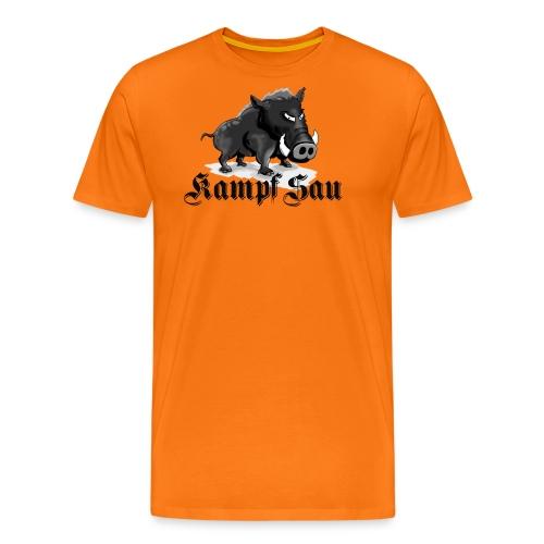 Kampfsau - Männer Premium T-Shirt
