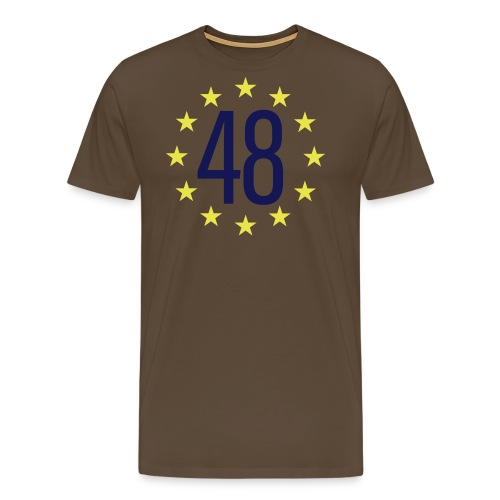 WE ARE THE 48% - Men's Premium T-Shirt