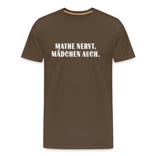 Mathe_Vektor - Männer Premium T-Shirt