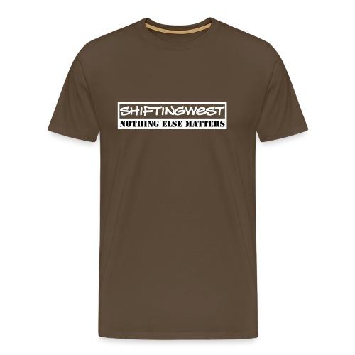 Shiftingwest Hoodie Nem v - Mannen Premium T-shirt