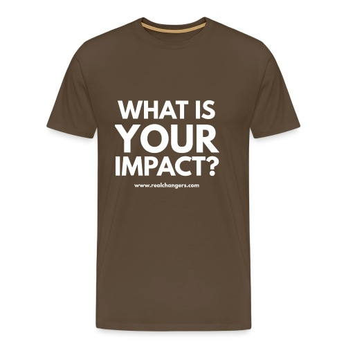 whatisyourimpact - Men's Premium T-Shirt
