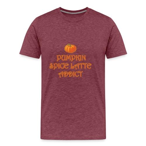 PumpkinSpiceAddict - Maglietta Premium da uomo