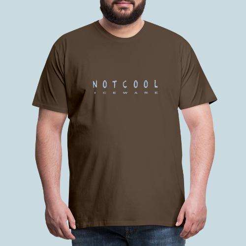 NOTCOOL ICEWARE - Mannen Premium T-shirt