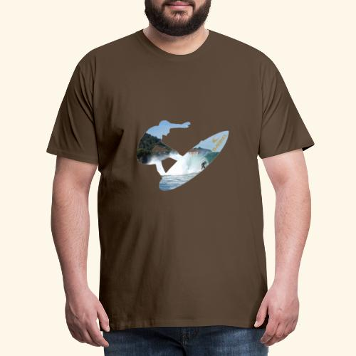 Mundaka surf limited edition - Camiseta premium hombre