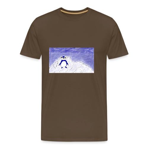 piqeu on the zuidpool - Mannen Premium T-shirt