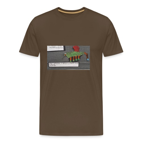 Green long and scary - Men's Premium T-Shirt
