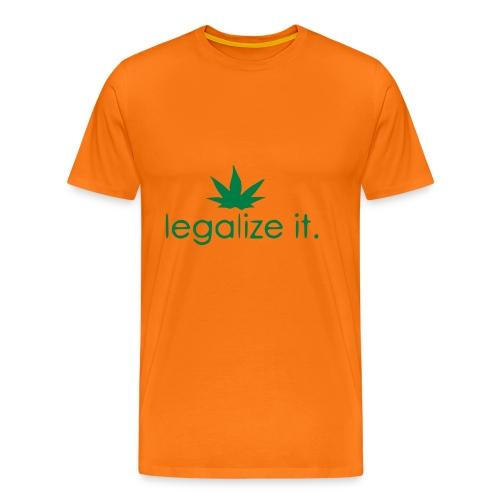 LEGALIZE IT! - Men's Premium T-Shirt