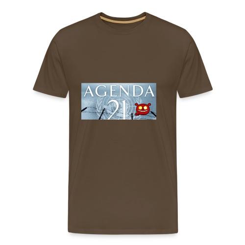 Agenda 21.bad - Men's Premium T-Shirt