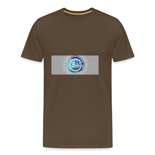 LOGO WITH BACKGROUND - Men's Premium T-Shirt