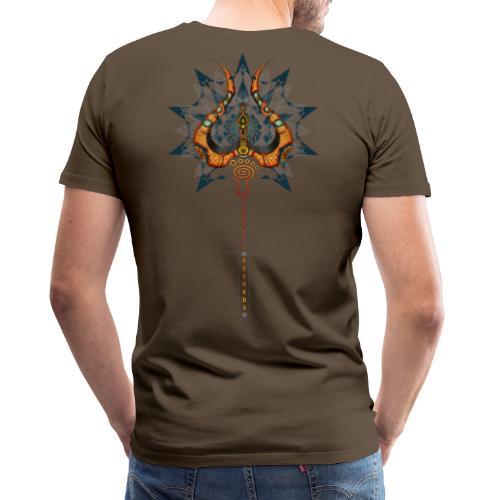 Parvati Records Trishula - Men's Premium T-Shirt