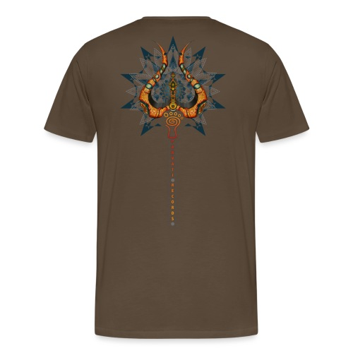 Parvati Records Trishula - Men's Premium T-Shirt