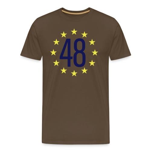 WE ARE THE 48% - Men's Premium T-Shirt