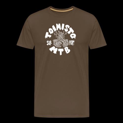 valkone toimisto2support - Miesten premium t-paita